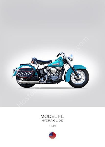 Harley-Davidson Model FL 1949