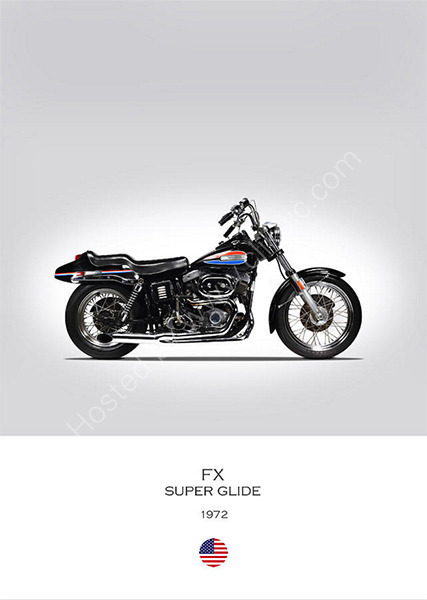 Harley-Davidson FX Super Glide 1972