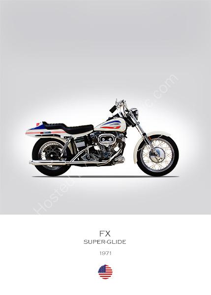 Harley-Davidson FX 1971
