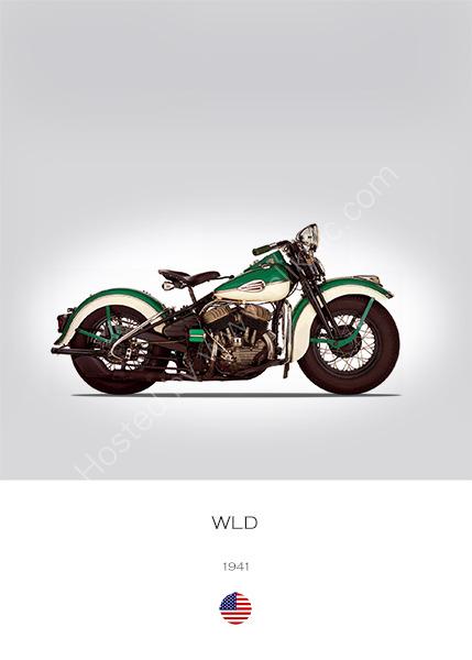 Harley-Davidson WLD 1941