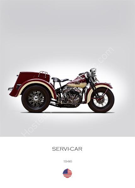 Harley-Davidson Servi-Car 1946