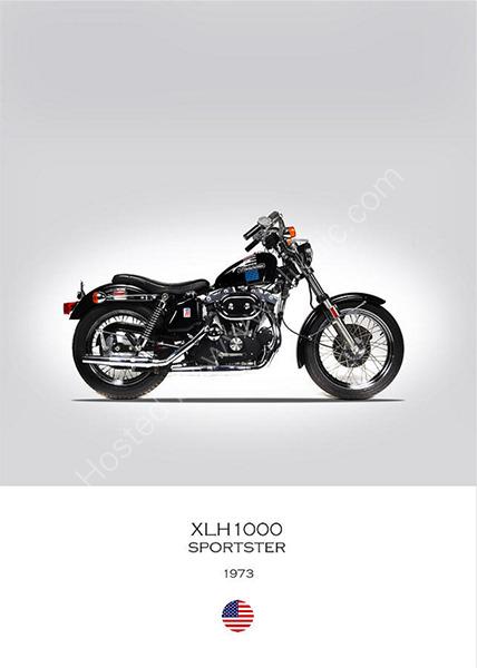 Harley-Davidson XLH1000 1973