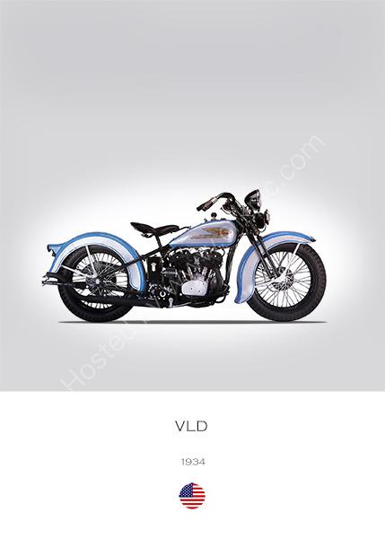 Harley-Davidson Model VLD