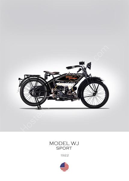 Harley-Davidson WJ Sport 1922