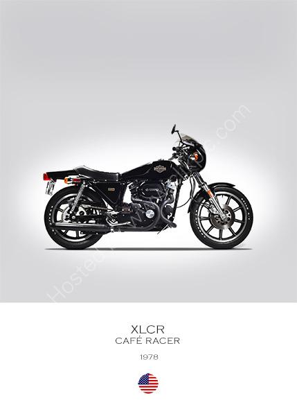 Harley-Davidson XLCR 1978