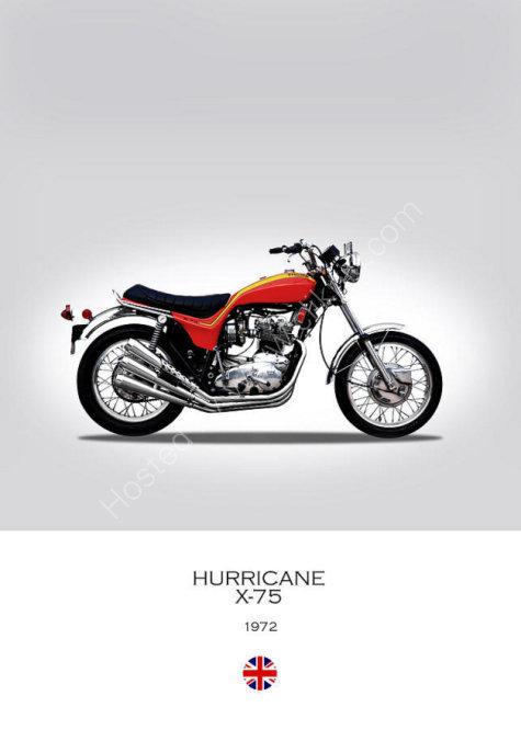 1972 X-75 Hurricane