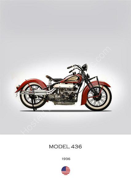 Indian Model 436 1936