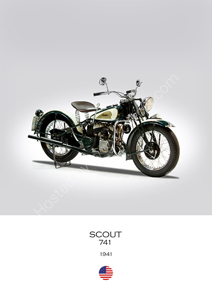Indian Scout 741 1941