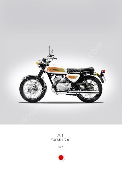 Kawasaki A1 Samurai 1971