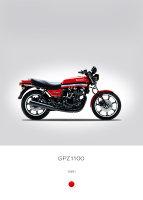 Kawasaki GPZ1100 1981