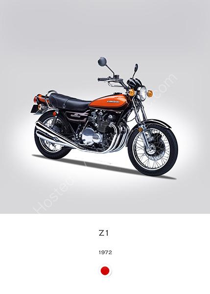 Kawasaki Z1 1972