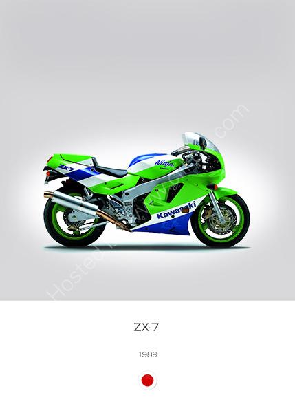 Kawasaki ZX-7 1989