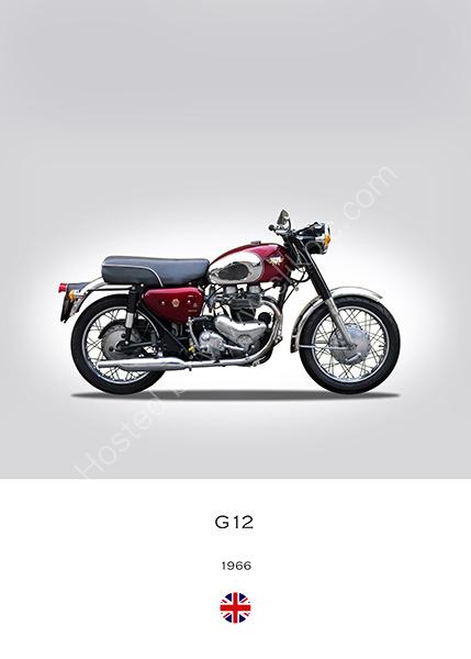 1966 Matchless G12 CSR
