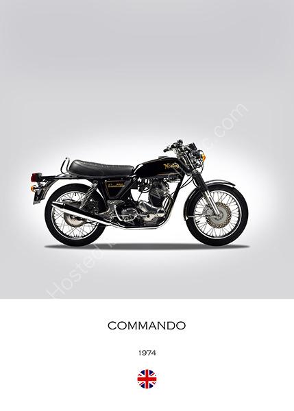 Norton Commando 1974