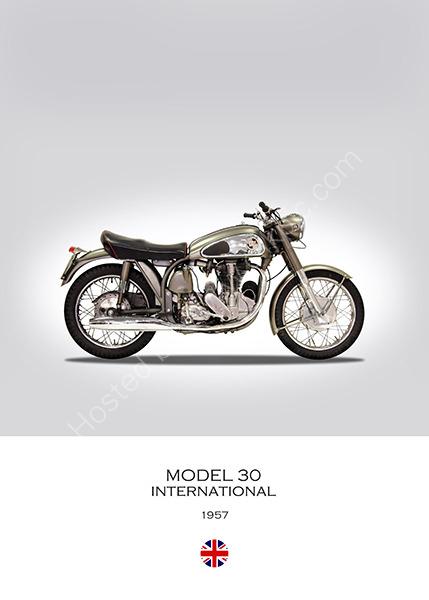 1954 Norton International