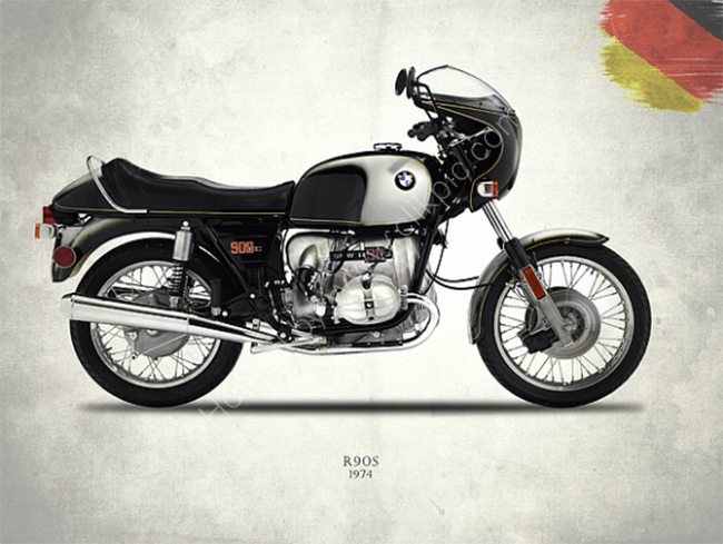 The 1974 Bmw R90S