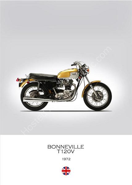 Triumph Bonneville T120V 1972
