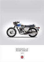 Triumph Bonneville 'Silver Jubilee' 1977