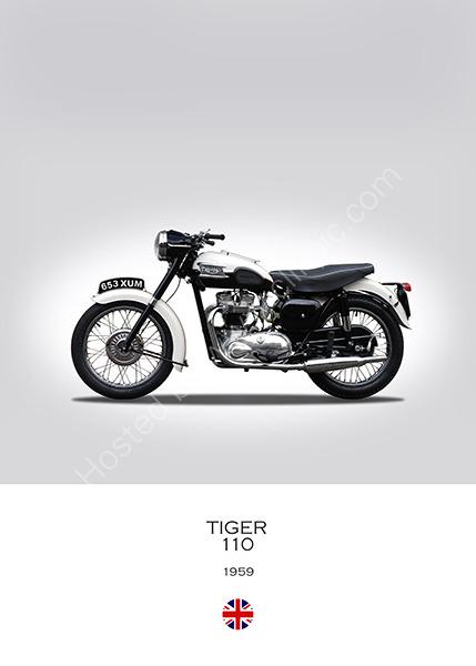 Triumph Tiger 110 1959