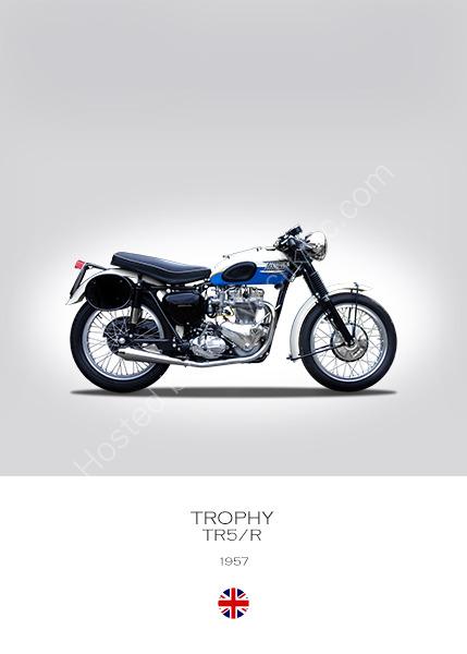 Triumph Trophy TR5/R 1957