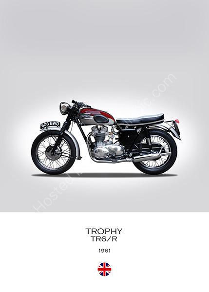 Triumph Trophy TR6/R 1961