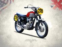 The Steve McQueen ISDT Motorcycle 1964
