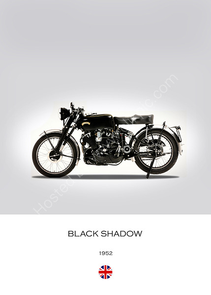 Vincent Black Shadow 1952