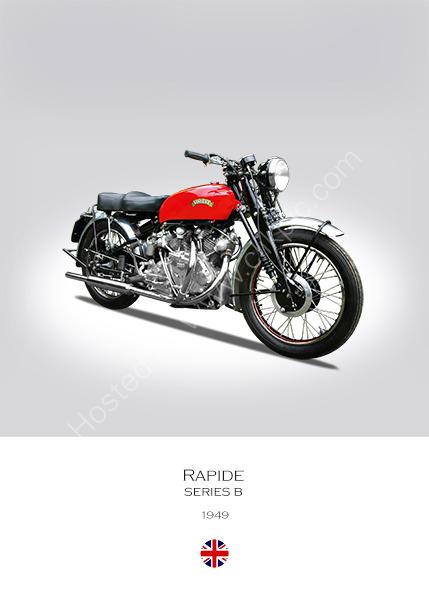 Vincent Rapide Series B 1949