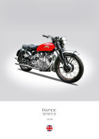 Vincent Rapide Series B 1949
