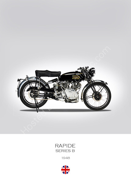 Vincent Rapide Series B 1948