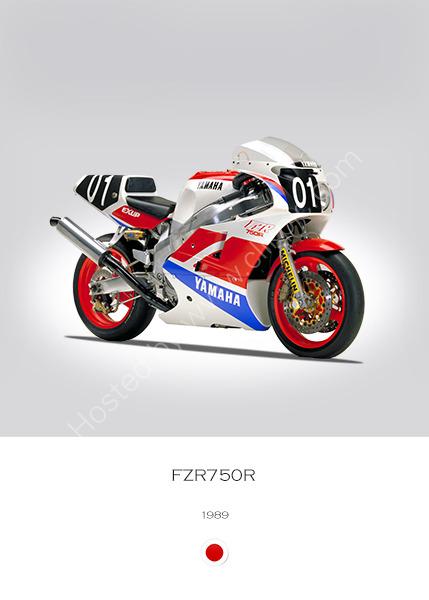 Yamaha FZR750R 1989