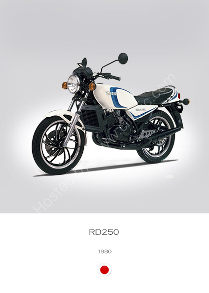 Yamaha RD250LC 1980