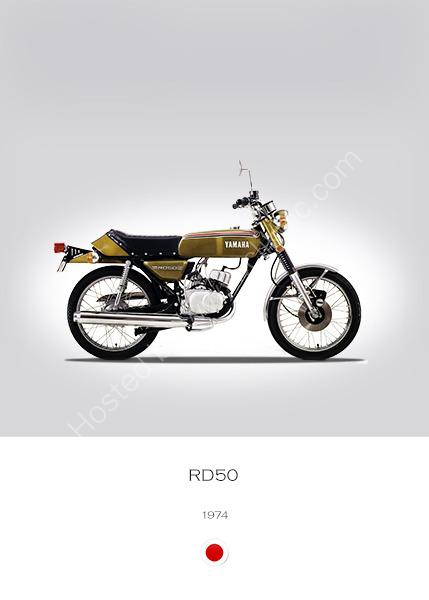 Yamaha RD50 1974