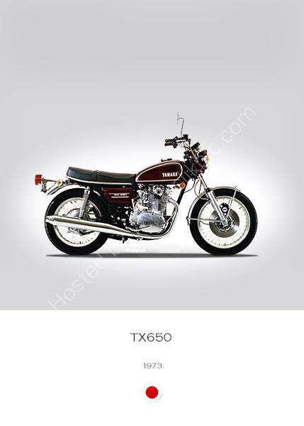 Yamaha TX650 1973