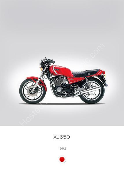 Yamaha XJ650 1982