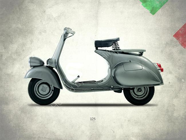 Vespa 125 1951