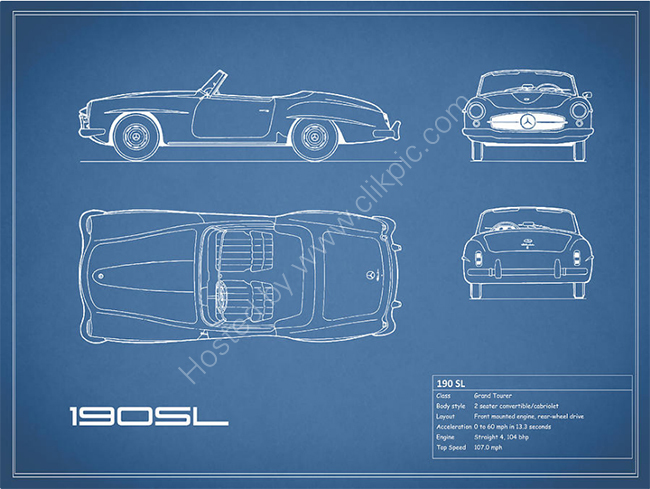 The 190 SL Blueprint