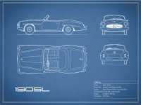 The 190 SL Blueprint