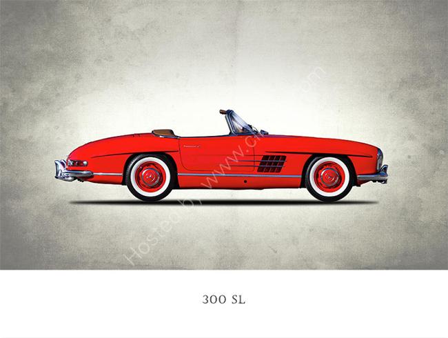Mercedes Benz 300SL 1957