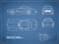 The 300SL Gullwing Blueprint