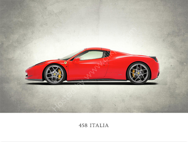The 458 Italia
