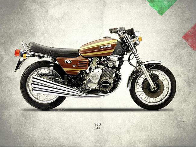 Benelli 750 Sei 1972