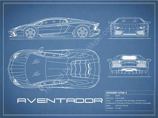 The Aventador Blueprint