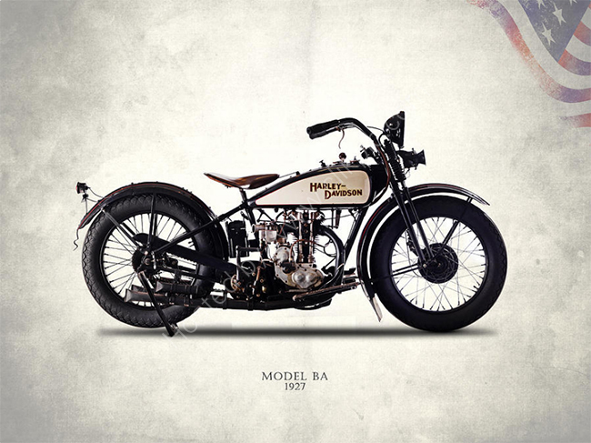 The Harley  Model BA 1927