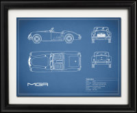 Car and Motorcycle Blueprints