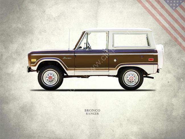 Ford Bronco Ranger 1976