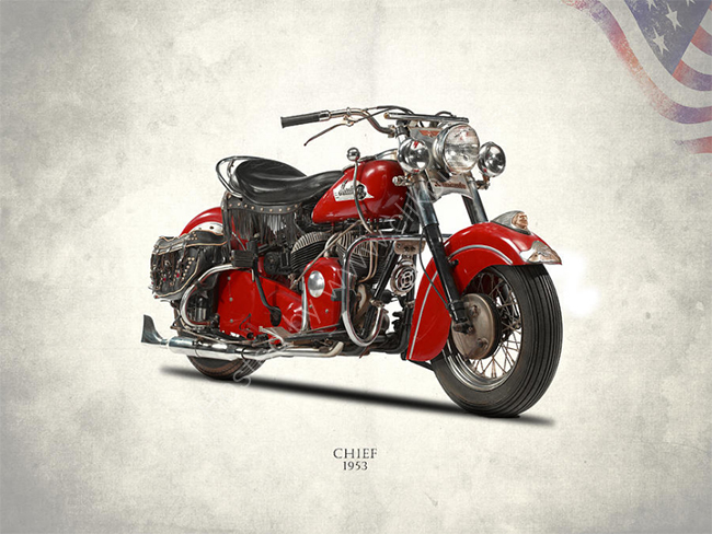 The 1953 Indian Chief