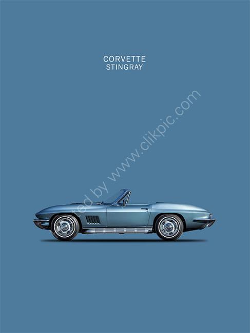 The 67 Corvette Stingray