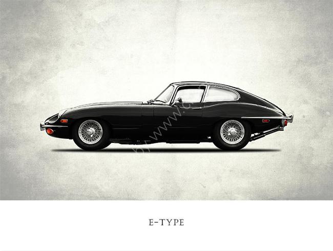 Jaguar E-Type Coupe