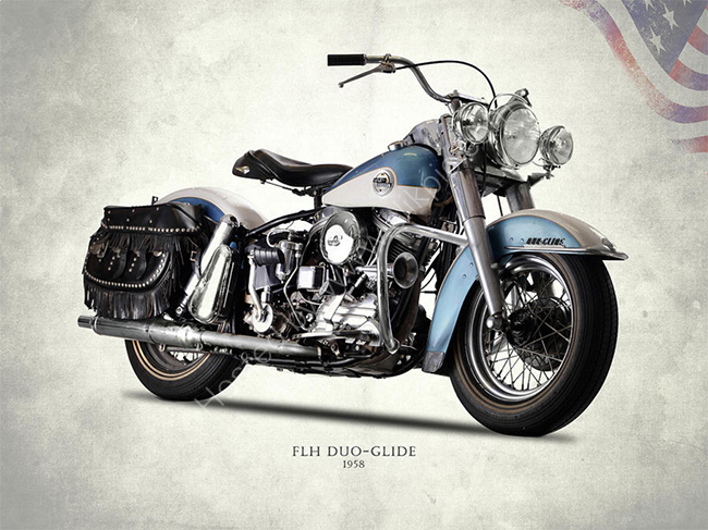Harley FLH Duo-Glide 1958